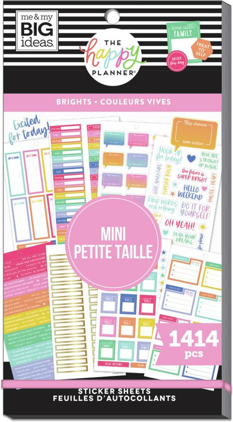 Value Pack Stickers - Brights - Skinny Mini
