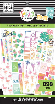 Value Pack Stickers - Summer Vibes
