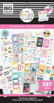 Value Pack Stickers - Summer Fun