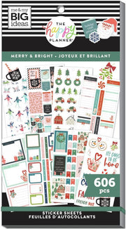 Value Pack Stickers - Merry & Bright