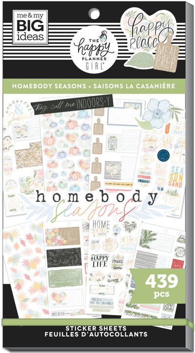 Value Pack Stickers - Homebody Seasonal