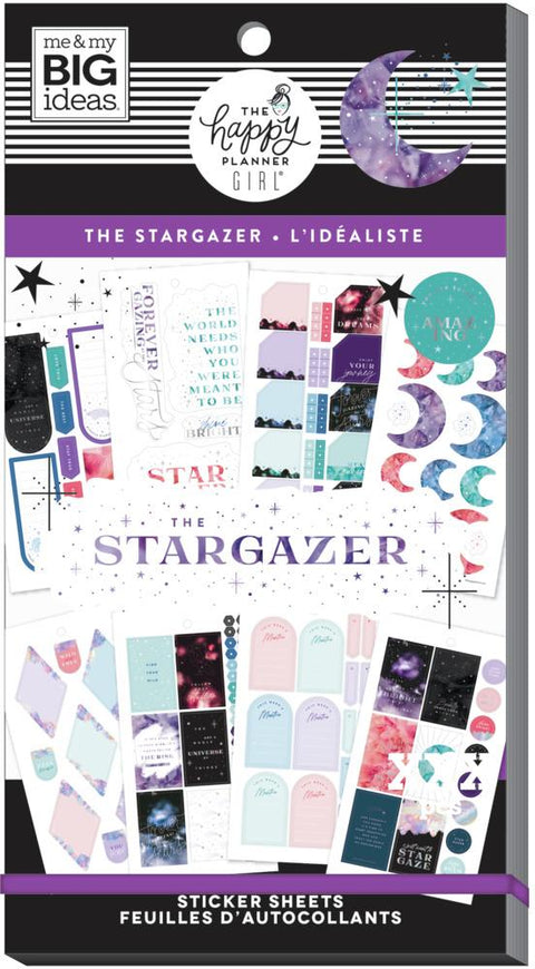 Value Pack Stickers - The Stargazer