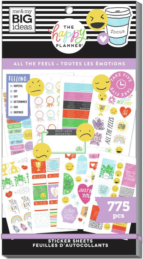 Value Pack Stickers - All The Feels