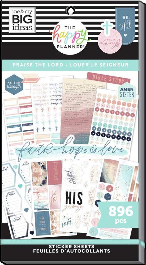 Value Pack Stickers - Praise The Lord