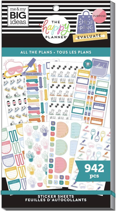 Value Pack Stickers - All The Plans