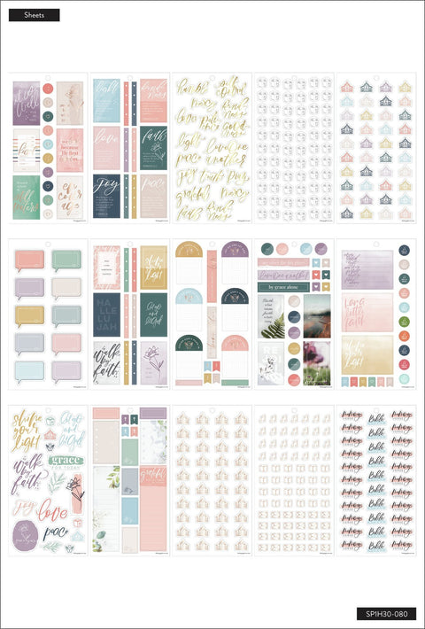 Value Pack Stickers - Walk By Faith