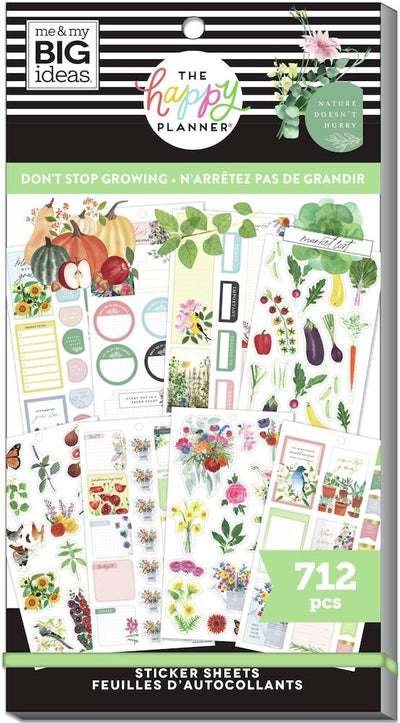 Value Pack Stickers - Don't Stop Growing