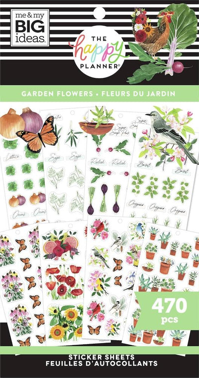 Value Pack Stickers - Garden Florals