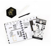 Value Pack Stickers - Black & White