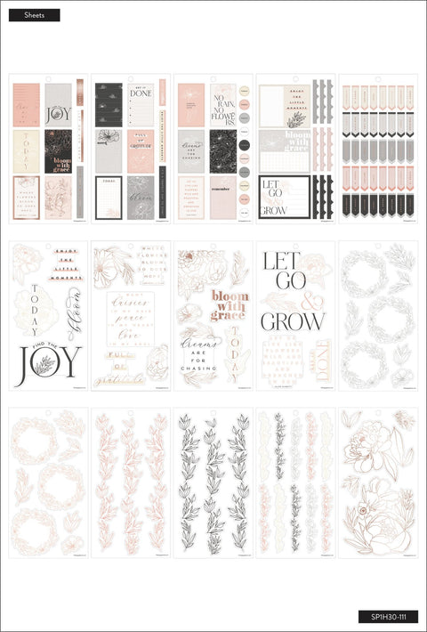 Value Pack Stickers - Sophisticated Florals