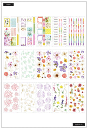 Value Pack Stickers - Pressed Florals
