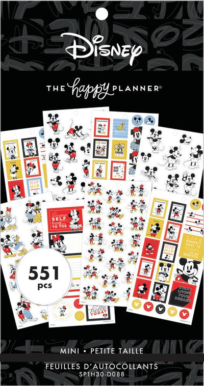 Disney © Value Pack Stickers - Mickey & Friends Mini