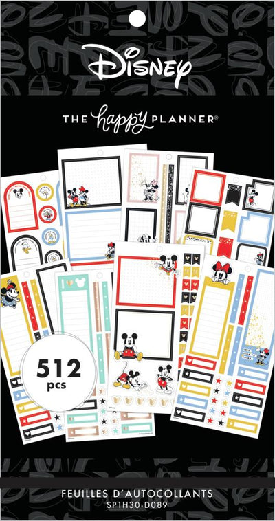 Disney © Value Pack Stickers - Mickey & Friends Colorful Boxes