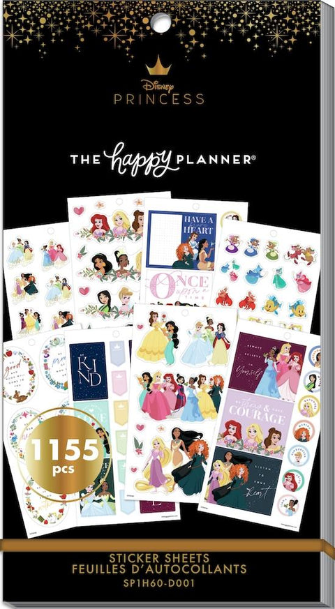 Disney © Value Pack Stickers - Princess Plans - 60 Sheet