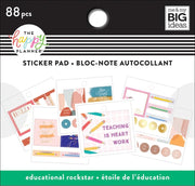 Tiny Sticker Pad - Educational Rock Star