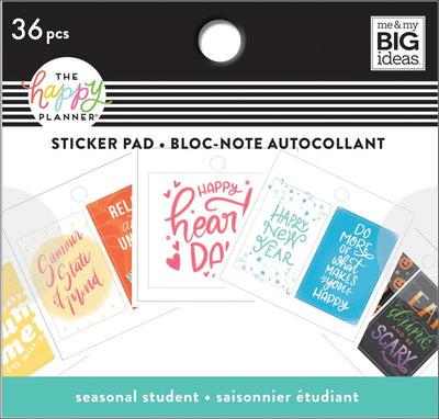 Tiny Sticker Pad - Holidays + Seasons