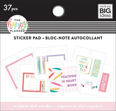 Tiny Sticker Pad - Wisdom & Wonder