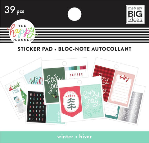Tiny Sticker Pad - Winter