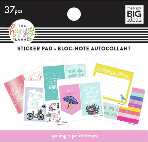 Tiny Sticker Pad - Spring