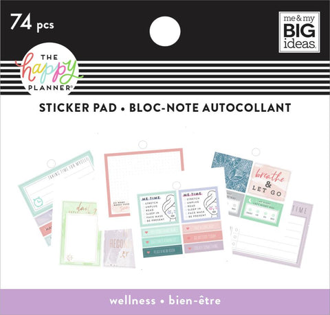 Tiny Sticker Pad - Wellness