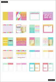 Tiny Sticker Pad - Savvy Saver Budget