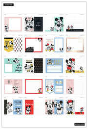 Mickey Mouse and Minnie Mouse Tiny Stickers Pad