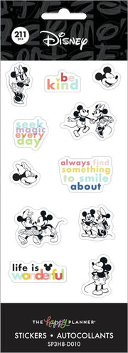 Disney © Mickey Mouse & Minnie Mouse Petite Sticker Sheets - Colorblock