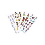 Disney © Princess Strong at Heart - 8 Sticker Sheets