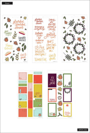 Sticker Sheets - Thanksgiving
