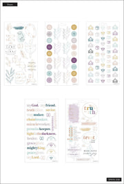 Simple Faith - 5 Sticker Sheets