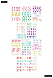 Whimsical Brights Alphabet Stickers