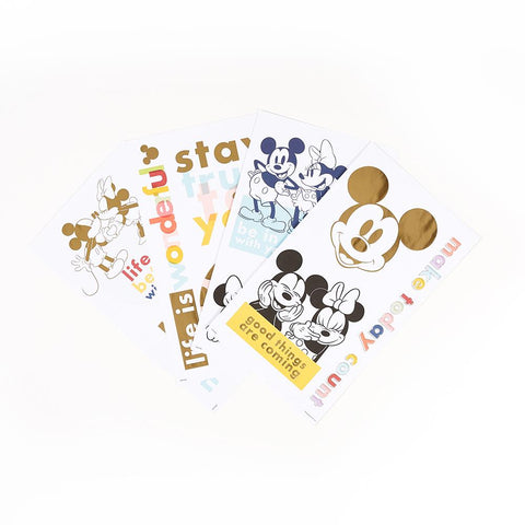 Disney © Mickey Mouse & Minnie Mouse Colorblock Large Icons Stickers