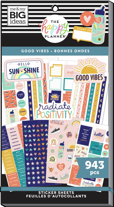 Student Value Pack Stickers - Good Vibes