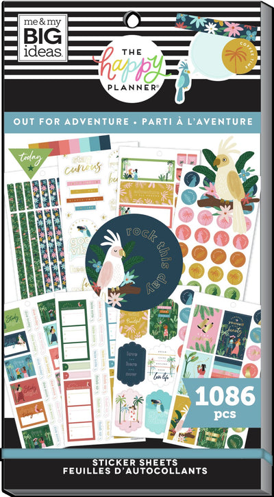 Student Value Pack Stickers - Out For Adventure