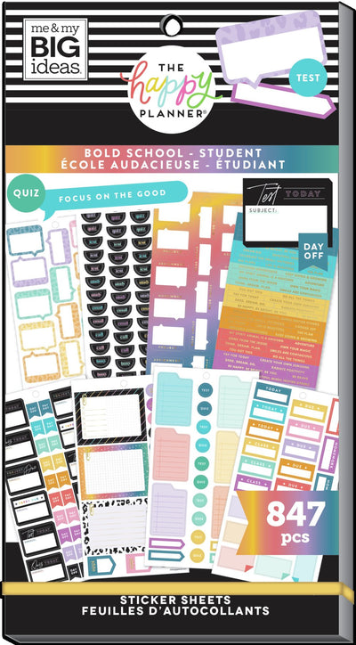 Student Value Pack Stickers - Bold School