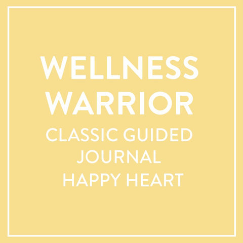 Wellness Warrior Classic Guided Journal - Happy Heart