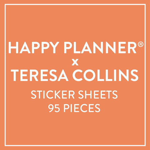 Sticker Sheets - Happy Planner® x Teresa Collins