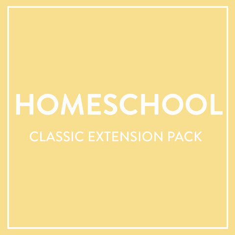 Homeschool Classic Extension Pack