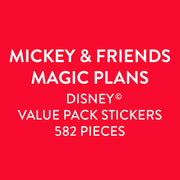 Disney © Value Pack Stickers - Mickey & Friends Magic Plans