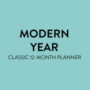 2021 Modern Year Classic Dashboard Happy Planner - 12 Months