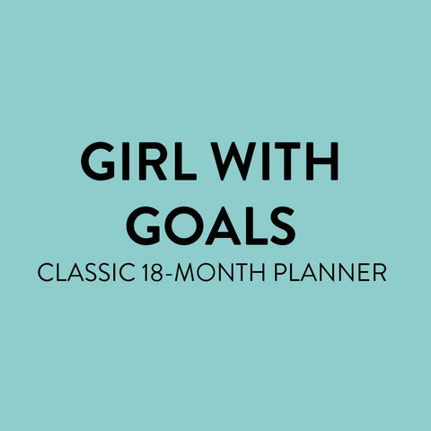 2021 Girl With Goals Classic Colorblock Happy Planner - 18 Months
