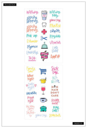 Dry Erase Decals - Mom