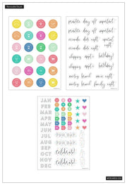 Dry Erase Decals - Monthly + Daily Schedule