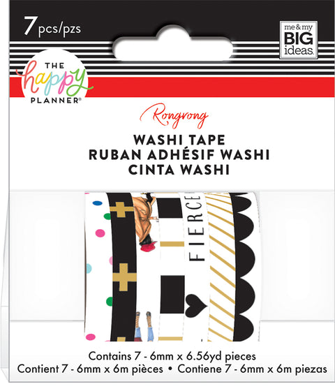 Washi Tape - Rongrong - Black & White