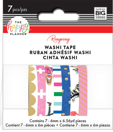 Washi Tape - Rongrong - Colorful