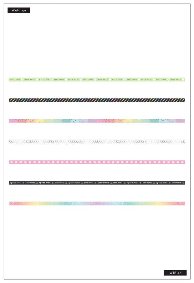 COMING SOON - Washi Tape - Budget