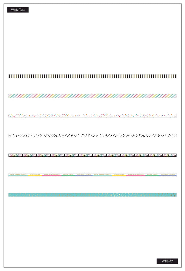 Washi Tape - Oh Happy Everyday
