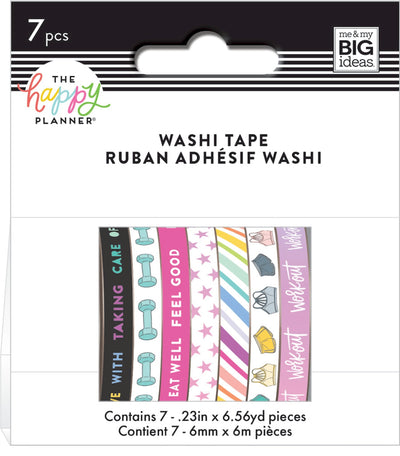 COMING SOON - Washi Tape - Fitness