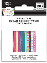 Skinny Washi Tape - Shine Bright