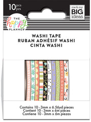 Skinny Washi Tape - Baby Girl